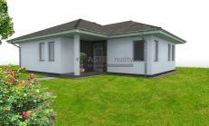 ASTER Výstavba: 4-izb. murovaný rodinný dom, 114m2