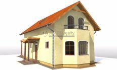 ASTER Výstavba: 4-izb. murovaný rodinný dom, 132m2