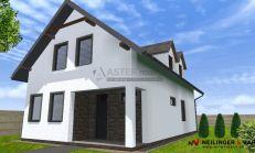 ASTER Výstavba: 4-izb. murovaný rodinný dom, 147m2