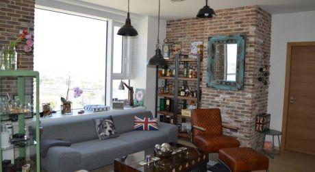 PANORAMA CITY - prenájom zariadeného luxusného 2-izb. bytu na 26. poschodí - REZERVOVANÉ