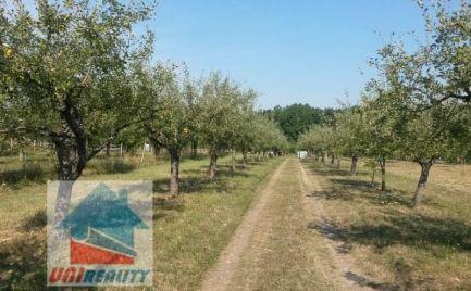 PREDANÉ  BN - LÁTKOVCE - CHATA  s pekným pozemkom o výmere 6.358 m2 / JABLKOVÝ  SAD / pod lesom