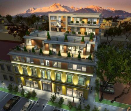 Prenájom, 1 - izbový byt v centre Poprad, novostavba,
