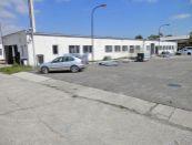 Výrobný areál (2x hala + pozemok) v Nitre na prenájom