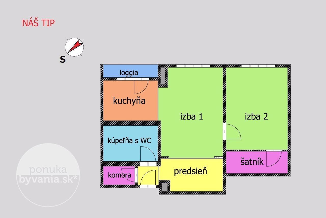 ponukabyvania.sk_Krížna_2-izbový-byt_KOVÁČ
