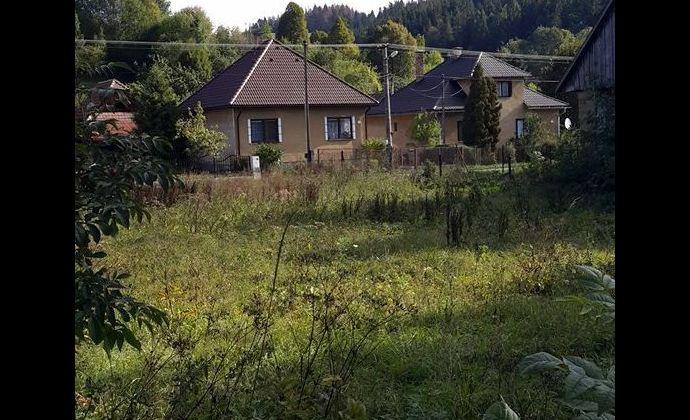 Stavebný pozemok v obci Bukovina