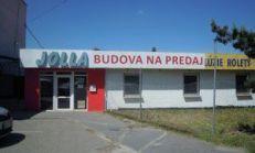 Predaj, budova s kancel. a skladovými priestormi s pozemkom na Južnej tr. Košice