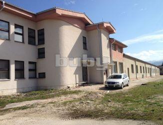 Prenájom výrobná hala 1650 m2 Rajec