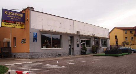Na predaj polyfunkčný objekt, 3.366 m2, Trenčín - Pod Sokolice.