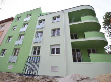 Nové byty v centre, pri mestskom parku v Piešťanoch