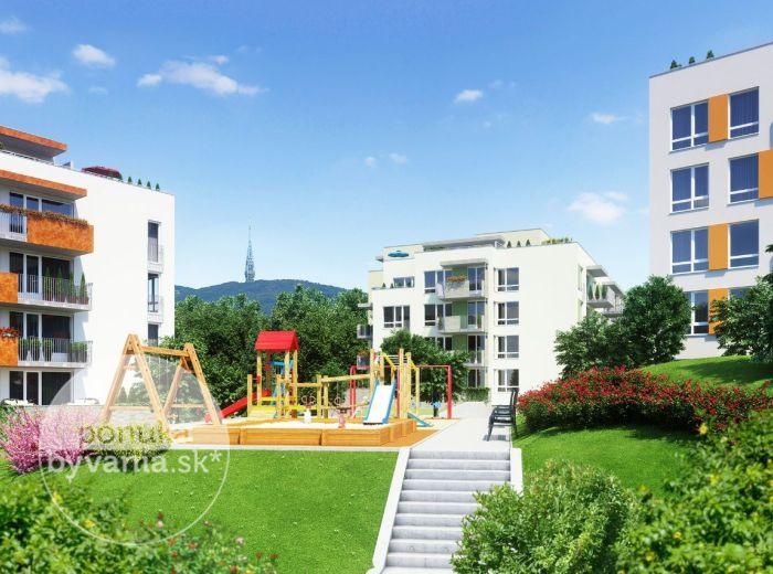 PREDANÉ - Rezidencie MACHNÁČ – Drotárska cesta, 2-i byt, 70 m2 – prestížne bývanie pri Horskom parku - teraz za CENY, NA KTORÉ STE ČAKALI!