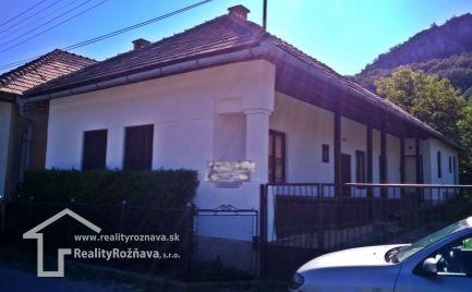 Rodinný dom v obci Kováčová .
