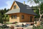 Rekreačná chata- Drevenica lesná - novostavba