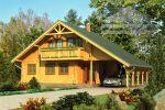 Rodinný zrubový dom dvojpodlažný - MALACKY
