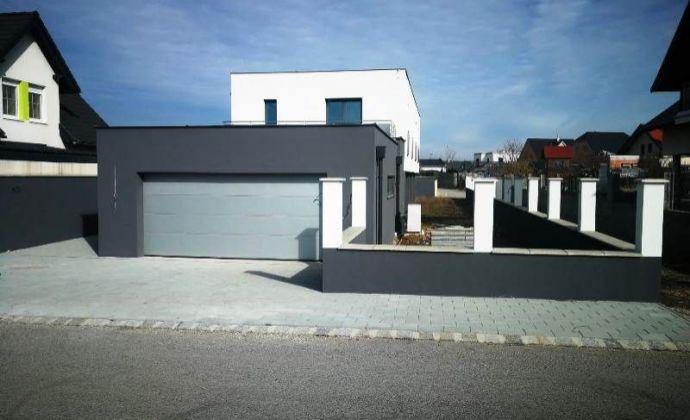 Novostavba 5izb. RD, ÚP 256 m2 na 720 m2 oplotenom pozemku v Rakúsku - Gattendorf len 15min. od BA.