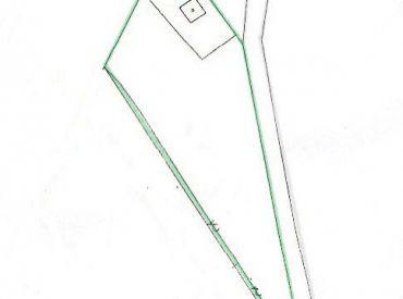 Na predaj pekný pozemok  2200 m2,  Trenčianske Teplice