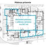 4 lukratívne obchodné priestory na predaj, Trenčín - centrum, spolu cca 567 m2