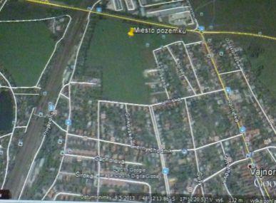 Ponúkame Vám na predaj pozemok Bratislava-Vajnory. 2 072 m2
