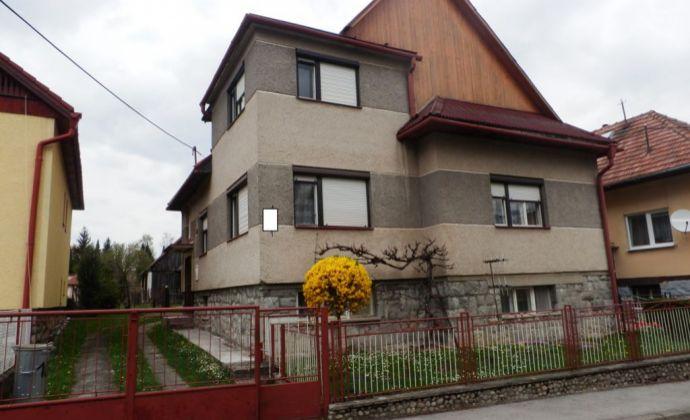 Rodinný dom s veľkou záhradou v Liptovskom Mikuláši