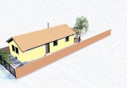 Rodinný dom vo výstavbe Rajka