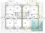 PREDANÉ - NOVOSTAVBA 3 izbový rodinný dom (dvoj dom) – ul. Gagarinova v Senci (pri Striebornom jazere)