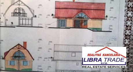Predaj - Rozostavaná stavba na stavebnom pozemku v Kameničnej