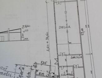 Predaj výrobných priestorov 500 m2 Vrútky