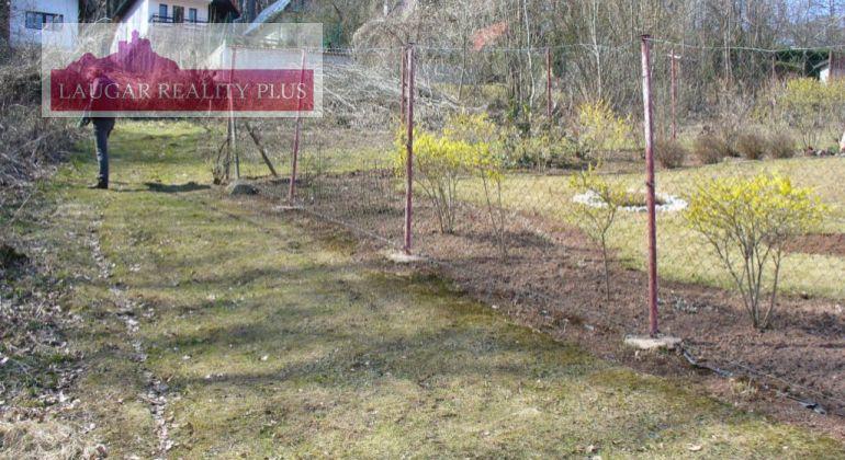 Pozemok  - výstavba rekreačnej chaty - Trenčianske Teplice