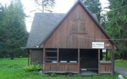 Predám chatu v lesnom prostredí v Liptovskom Jáne.