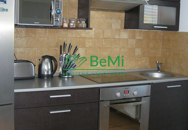 Kompletne zariadený, po úplnej rekonštrukcii 2-izbový byt v centre (320-112-MP)