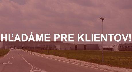 Priemyselný pozemok 12 000 m2 - 20 000 m2, Dúbravka a okres Bratislava IV, kúpa pozemku na sklady
