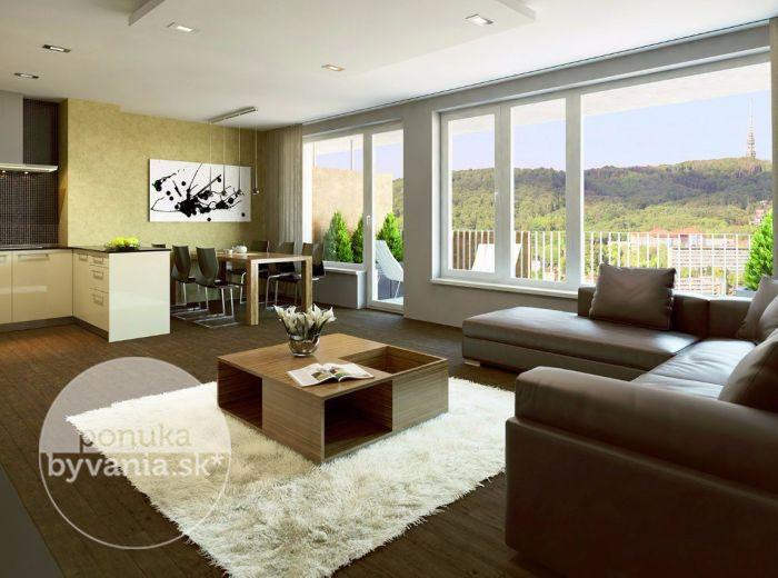 PREDANÉ - Rezidencie MACHNÁČ, Drotárska cesta, 4-i PENTHOUSE, 171 m2 – prestížne bývanie pri Horskom parku - TO NAJLEPŠIE NAKONIEC!