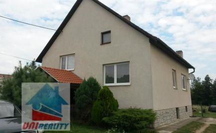 DOLNÉ DRŽKOVCE – rodinný dom 4+1 / GARÁŽ / pozemok 600 m2