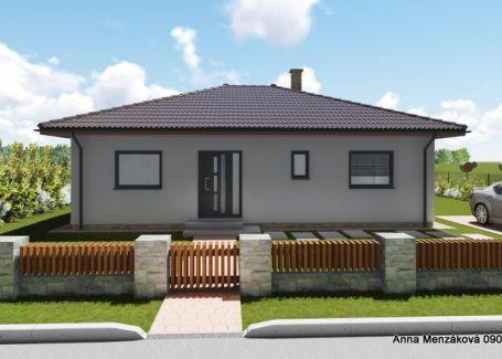 Na predaj nízkoenergetický 4-izbový dom