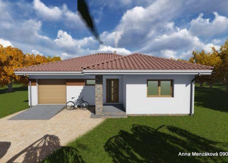 Na predaj nízkoenergetický 4-izbový bungalov
