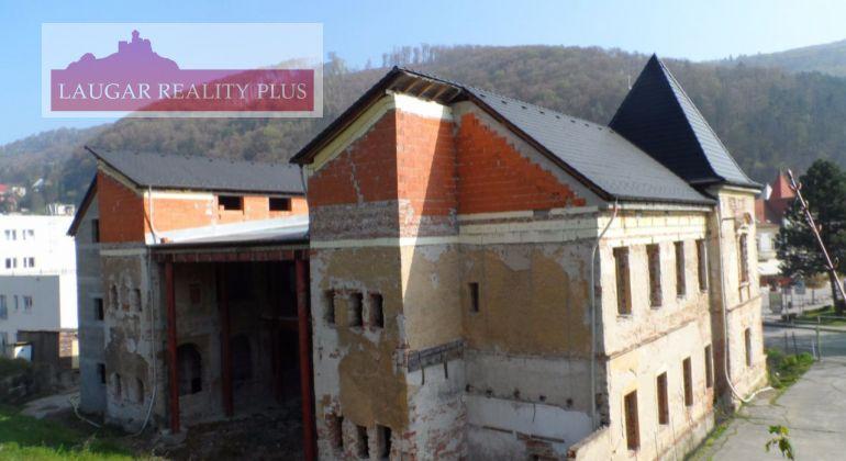 Bytový dom vo výstavbe v Trenčianských Tepliciach