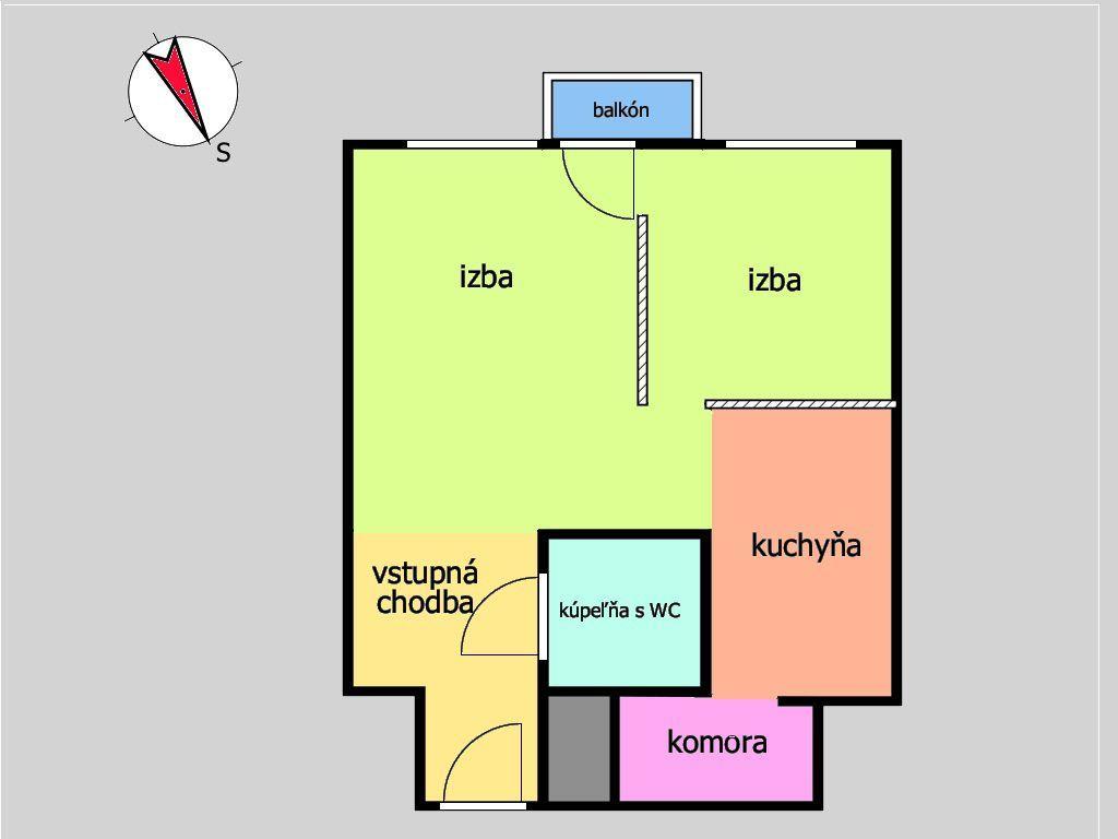 ponukabyvania.sk_Ľanová_1-izbový-byt_MICHÁLKOVÁ