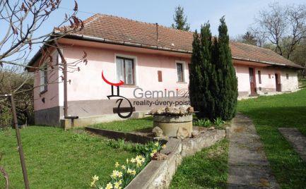GEMINIBROKER Vám ponúka na predaj rodinný dom v obci Abaújvár