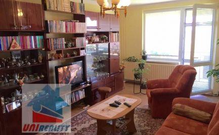 RYBANY - 4 izbový družstevný byt na predaj / VLASTNÉ KÚRENIE / záhrada / LOGGIA, PIVNICA, GARÁŽ