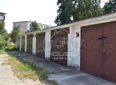 PREDAJ. garáž v Stupave, Kúpeľná ulica