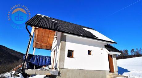 Na predaj 2 malé rodinné domy, NOVOSTAVBA, úžitková plocha 120 m2, pozemok 500 m2, Horné Srnie