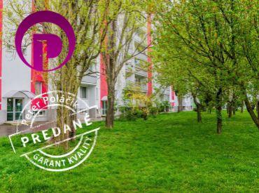 PREDANÉ - BIELORUSKÁ UL. POD. BISKUPICE 86 m2, výnimočne slnečný 4-iz byt v tesnej blízkosti prírody