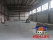Hala 847 m2 na Zvolenskej ceste
