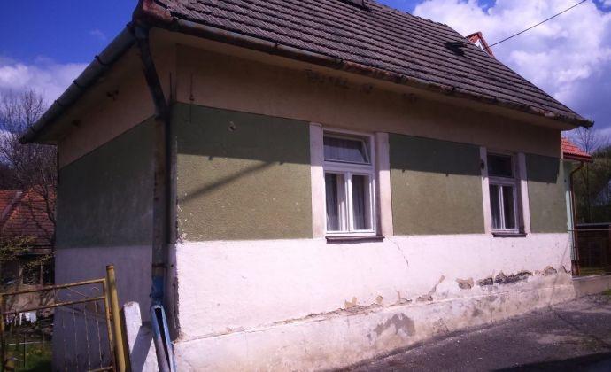 Rodinný dom - chalupa v mestskej časti Liptovského Hrádku