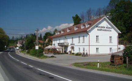 Penzión KÚRIA, budova zo 17. storočia postavená v empírovom štýle. Pozemok 3268 m2 v lokalite Dolný Kubín