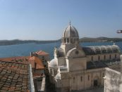 4-izbový byt v starom meste Šibenik z výhľadom na more