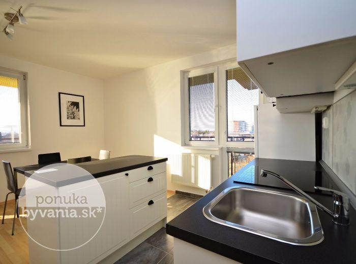 PRENAJATÉ - HLBINNÁ, 2-i byt, 69 m2 – krásny slnečný byt, v NOVOSTAVBE v zelenom prostredí, s priestrannou loggiou, PARKOVACIE MIESTO V CENE