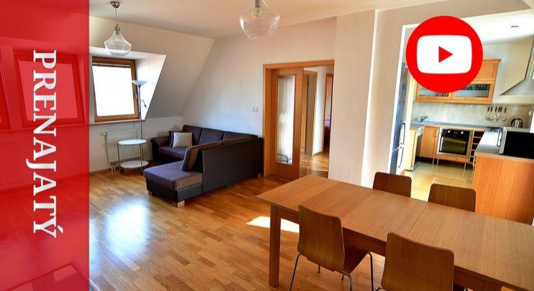 PRENAJATÝ: Nadštandardný byt na prenájom v úplnom centre meste Žilina 134 m2