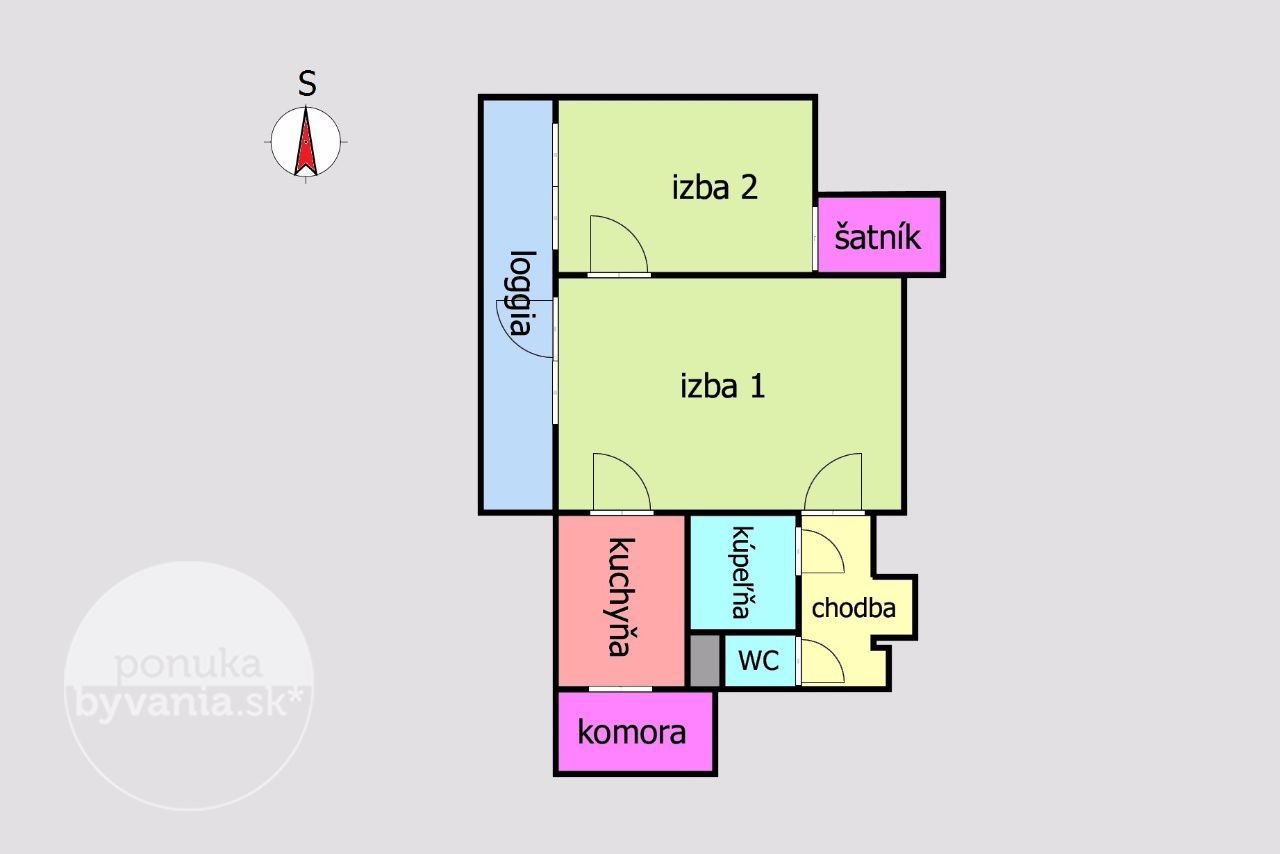 ponukabyvania.sk_Bieloruská_2-izbový-byt_LUPTÁK