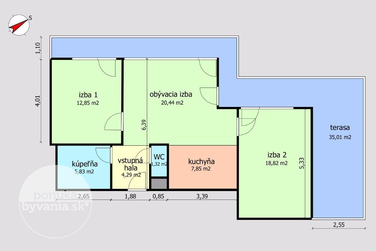 ponukabyvania.sk_Opletalova_3-izbový-byt_archív