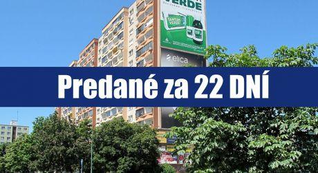 PREDANÉ ZA 22 DNÍ: Dvojgarzónka DE LUXE na Vavilovovej ulici v Bratislave - Petržalke poskytne útulný domov mladšej i staršej generácii